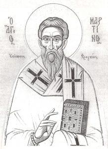 Άγιος Μαρτίνος ο Θαυματουργός, Επίσκοπος Φραγγίας (12 Νοεμβρίου)