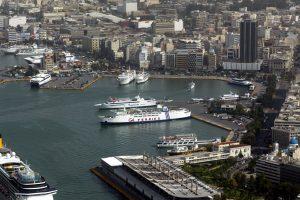 Το λιμάνι του Πειραιώς