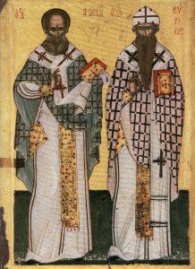 Άγιοι Αθανάσιος ο Μέγας και Κύριλλος, Πατριάρχες Αλεξανδρείας