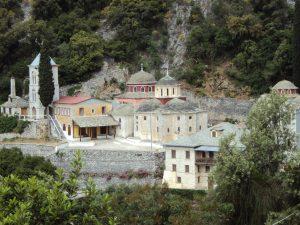 Σκήτη Αγίας Τριάδος Καυσοκαλύβια, Αγίου Όρους (1)
