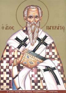 Άγιος Παγκράτιος Επίσκοπος Ταυρομενίου