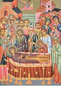 Η κοίμησις της αγίας Άννης